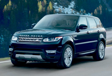 Alquiler Range Rover Sport con chofer